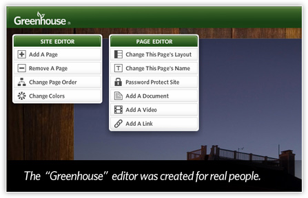 The 'Greenhouse' editor was created for real people.